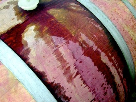 Weinfass Rotwein