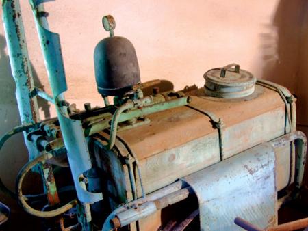 wooden sprayer