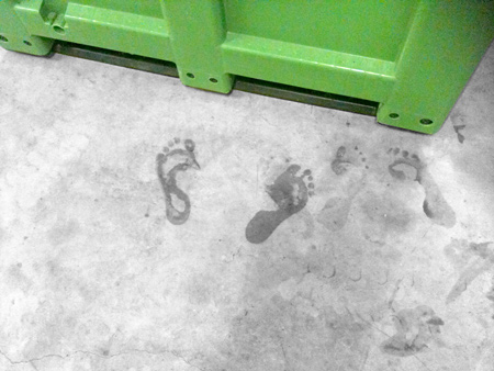 Feet box Verjus