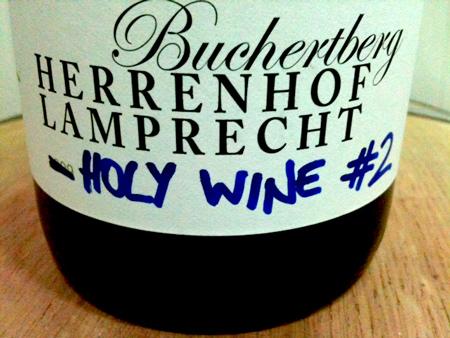 herrenhof holy wine bottle