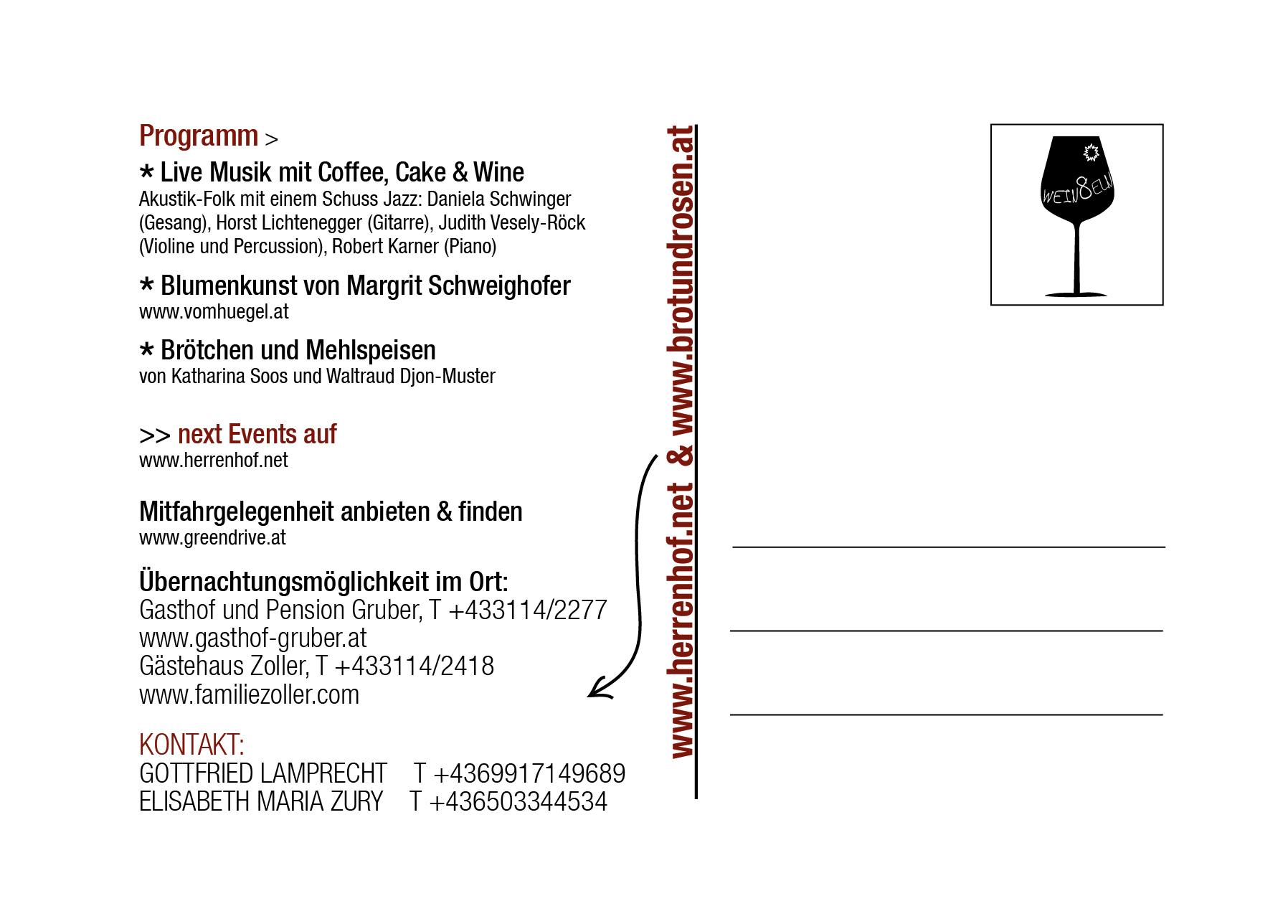 Tolle Event Postkarte Vorlage Bilder - Beispiel Wiederaufnahme ...