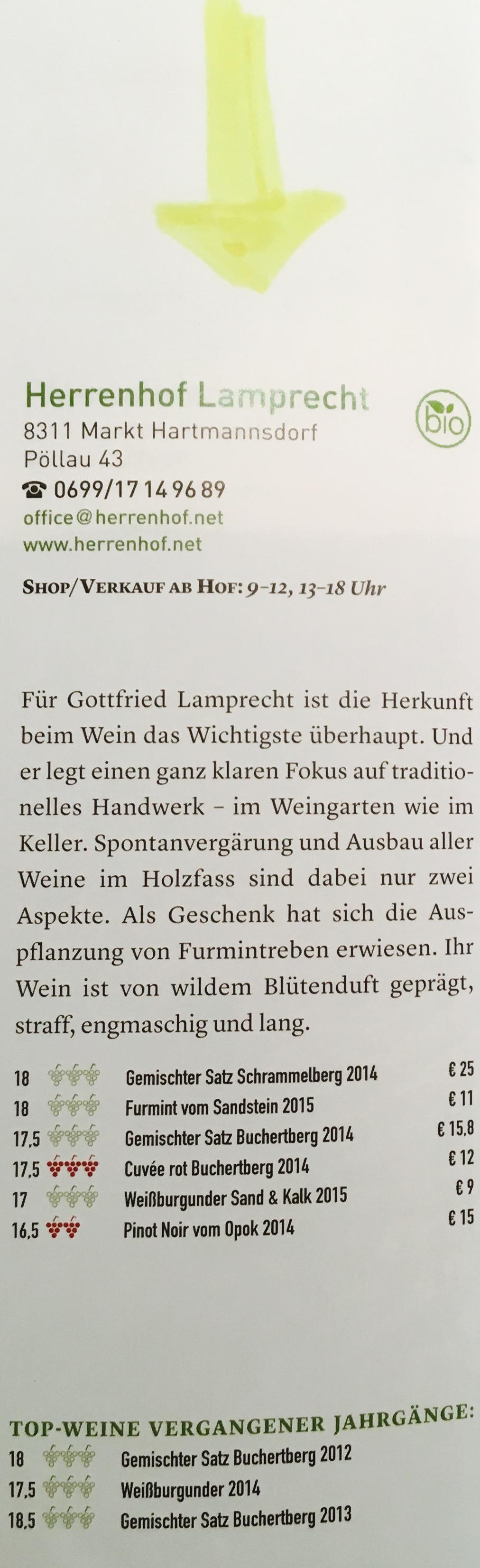 Gault Millau 2017_Bewertung Herrenhof